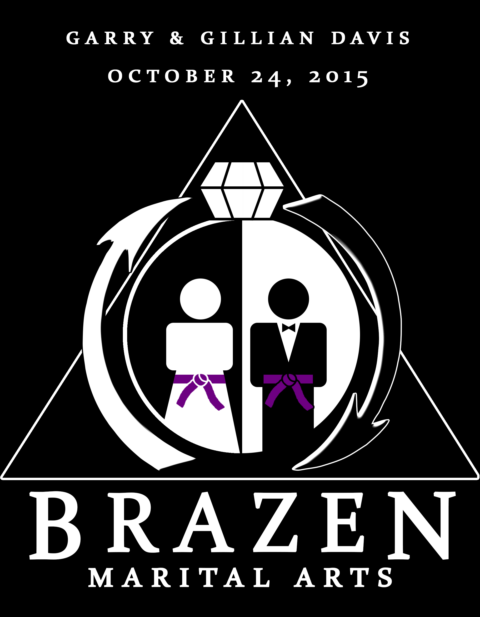 Wedding Brazen Inverted