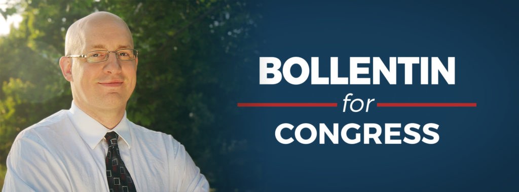 Bollentin for Congress - Logo and Graphic
